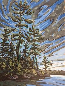 Big Island Pines by Jenny Kastner