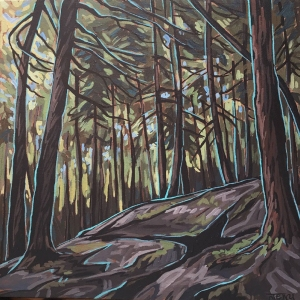 Cedars & Limestone by Jenny Kastner