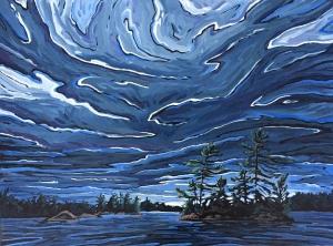 Dancing Pines by Jenny Kastner