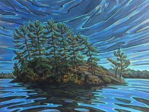 Doe Island Study by Jenny Kastner