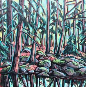 Hemlock Reflected by Jenny Kastner