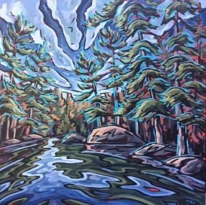Meet Me in MacKenzie Bay Study by Jenny Kastner