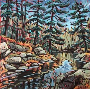Mississauga River Dream Study by Jenny Kastner