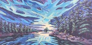 Roxborough Sunrise by Jenny Kastner