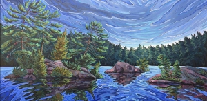 Stoney Narrows by Jenny Kastner