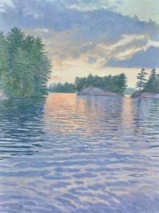 Evening Calm by Joe Sampson