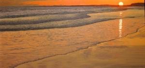 Sunset Sand by Joe Sampson