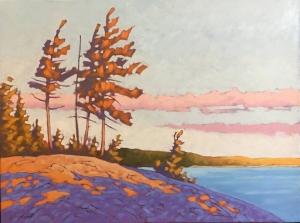 Late Afternoon II by John Lennard