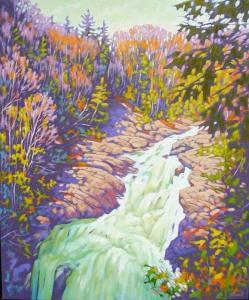 Ragged Falls by John Lennard