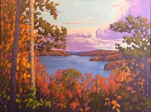 Smoke Lake by John Lennard