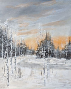 Collingwood Birches by Larry McGill