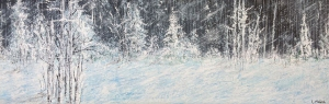 Frost Birch by Larry McGill