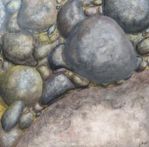 Rocks Underwater I by Larry McGill