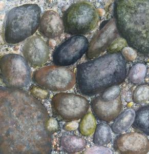 Rocks Underwater II by Larry McGill