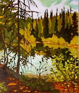 Tea Lake by Lauren Boissonneault