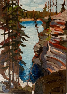 Athabaska River by Lauren Boissonneault