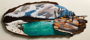 Athabaska River II by Lauren Boissonneault
