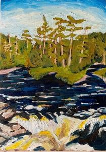 New Brunswick Rapids by Lauren Boissonneault