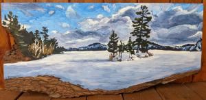 Snowy Island by Lauren Boissonneault