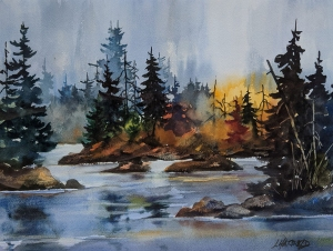 Islands in the Stream by Len Harfield