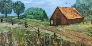 Barn (Series 11) by Linda Coffee
