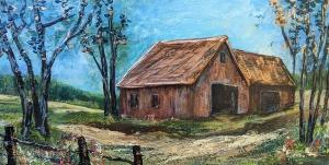 Barn (Series 12) by Linda Coffee