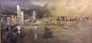 Cityscape 5 by Linda Coffee