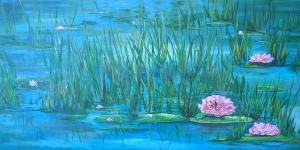 Lily Pond by Linda Coffee