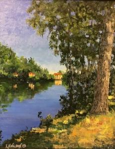Along the Aude by Lloyd Wilson