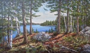 Northern Landscape by Lloyd Wilson