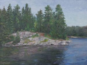 Canadian Shield by Lloyd Wilson