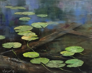 Canoe View by Lloyd Wilson