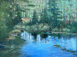 Evening Reflections by Lloyd Wilson