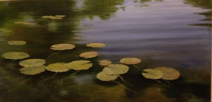 Lily Pads 11 by Lloyd Wilson