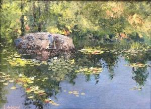Lily Pond by Lloyd Wilson