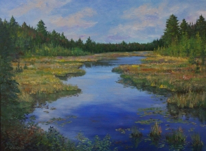 Northern Marshland by Lloyd Wilson