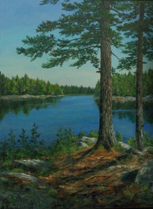 Pine Country by Lloyd Wilson