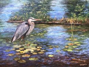 Stealth Heron by Lloyd Wilson