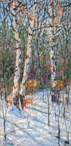 Winter Birch by Lloyd Wilson