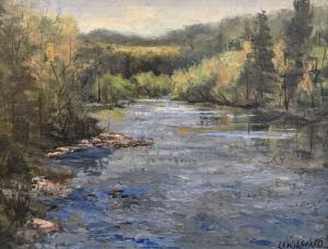 Aude (River In France) by Lloyd Wilson