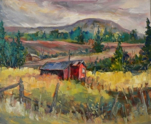 Bancroft Red Shed by Lucy Manley