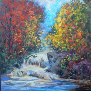 Hollow Falls by Lucy Manley
