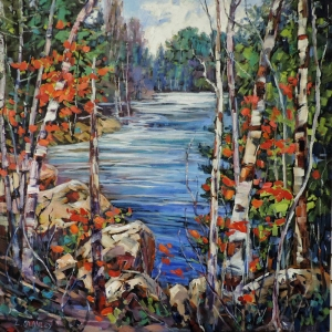Spring Emerges into Autumn by Lucy Manley