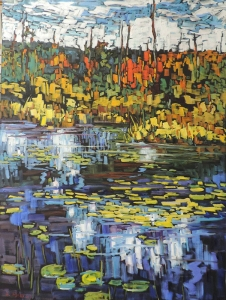 Wetland Enchantment 1 by Lucy Manley