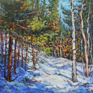 Winter Brilliance by Lucy Manley