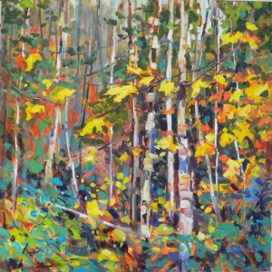 Woodland Yellows by Lucy Manley