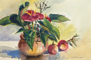 Nature Morte Fleurs by Margo Rivar