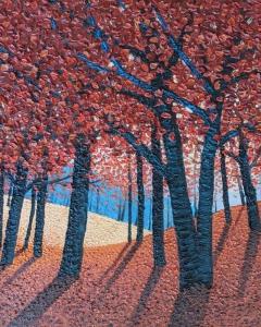 Escarpment Maples by Mark Berens