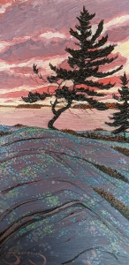 Pine Solitude (Series 1) by Mark Berens