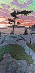 Pine Solitude (Series 2) by Mark Berens
